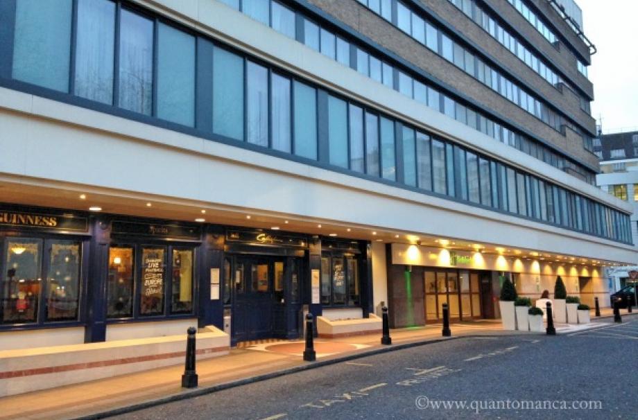 Recensione dell\' Hotel Holiday Inn Bloomsbury a Londra | Il Blog ...