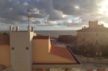 Vista del Forte dalla terrazza dell'albergo